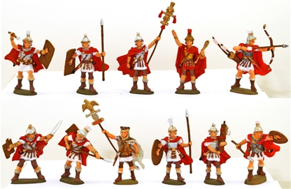 The Roman Legions - fully painted