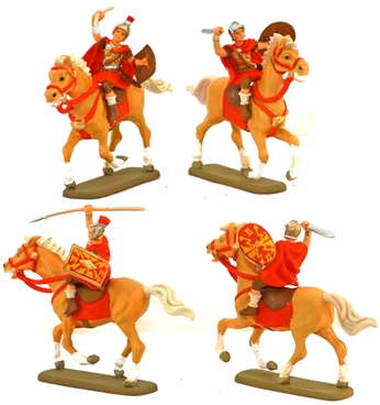 Roman Cavalry - fully painted