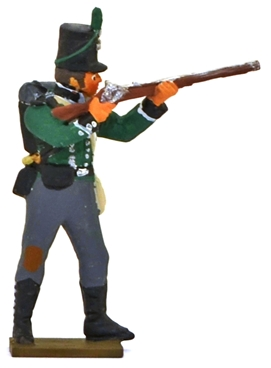 Napoleonic British 95th Rifle Regiment Rifleman