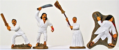 Mexican Peasants - Basic painted