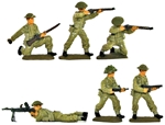 World War II British Infantry - Basic painted