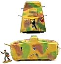 WWI German A7V Tank - Fully-painted