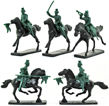 German Uhlans - Lancer Cavalry