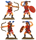 Cretan Archers and Slingers - fully painted