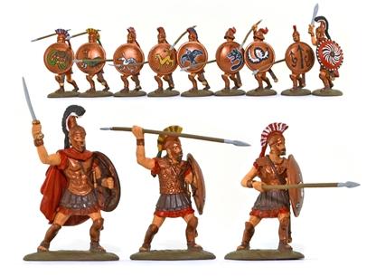 Spartan Hoplite Toy Model
