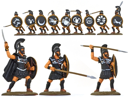 Thessalian Hoplites - fully painted