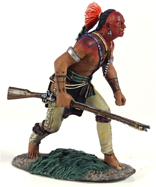 Woodland Indian Crouching Advancing