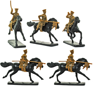 World War I British Lancers