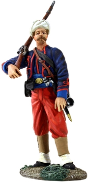 114th Pa Zouave in Turban w Musket