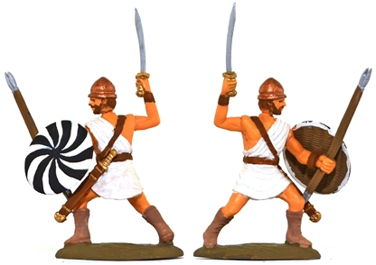 Athenian Peltasts - fully painted
