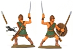 Thracian Peltasts - fully painted