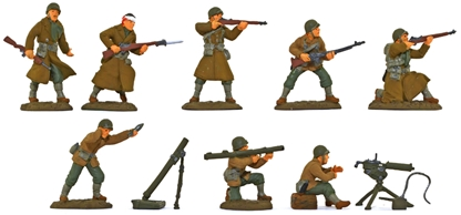 WWII U.S. Inf. Fire Support 1942-43 - full paint