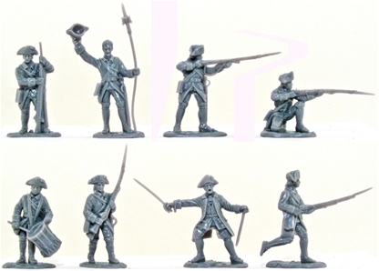 French Infantry 1758