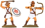 Mercenary Archers and Slingers - fully painted