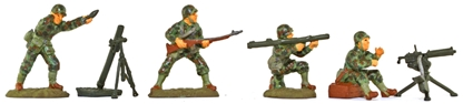 WWII U.S.M.C. Fire Support - Pacific - full paint