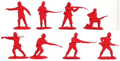 British 24th Foot Figure Set #1 - very low stock