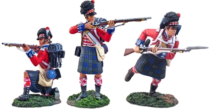 42nd Highlanders Attacking