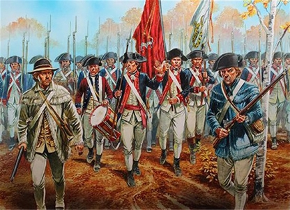 American Revolution Continental Infantry 1776-1783