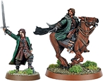 Aragorn (Strider) Foot and Mtd - metal - 1 left