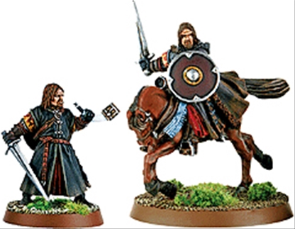 Boromir Foot and Mounted - metal version