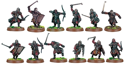 Uruk-Hai Scout - fully painted figure