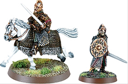 Theoden Foot and Mounted - first version metal kit