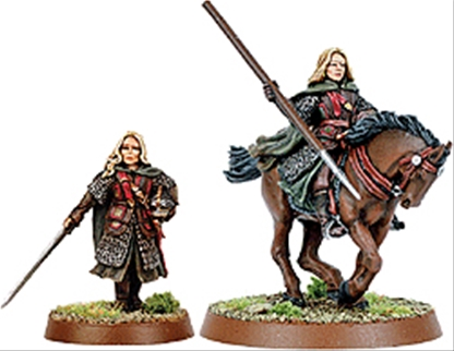 Eowyn Foot and Mounted - early metal kit