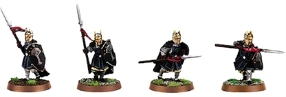 Warriors of Numenor with Spears - metal kit