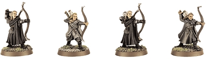 Lorien Elf Bowmen - original metal kit
