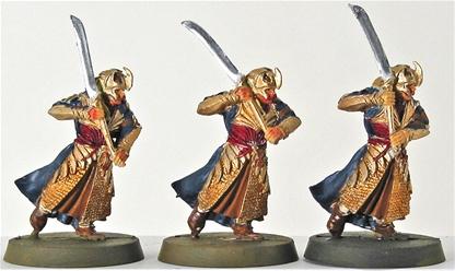 Haldir's Elves with Swords - original metal kit