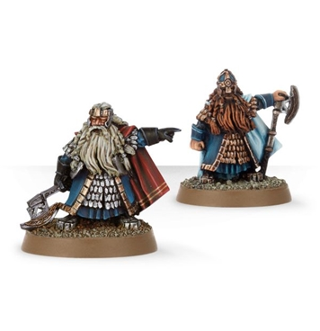 Dwarf Lords Balin and Dain original metal version