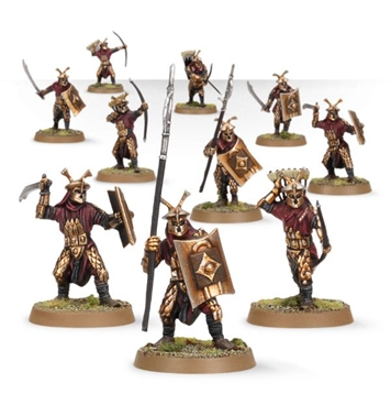 Easterling Warriors - fully painted figure