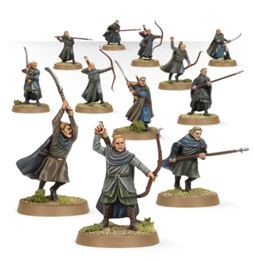 Wood Elf Wariors - fully painted figure