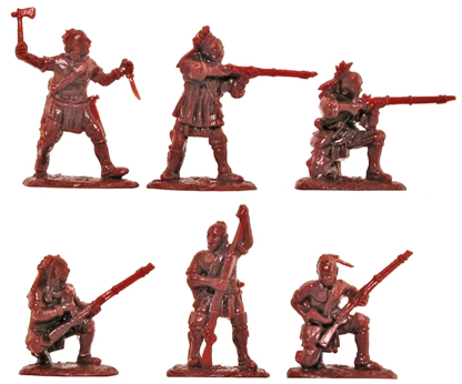 Woodland Indians Set #2 - color varies