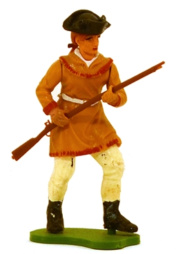 Swoppet 1776 American Scout Advancing