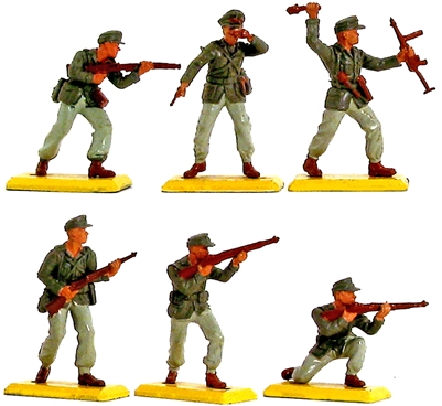 Deetail WWII German Afrika Korps (1976)