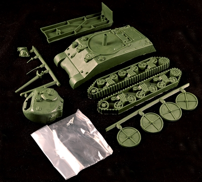 WWII Sherman Tank - sold unpainted