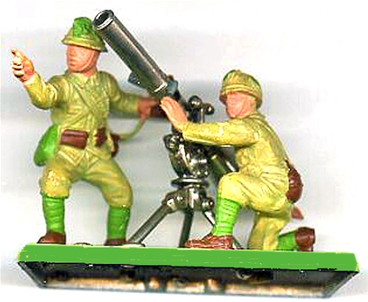 Deetail WWII Japanese Recoilless Rifle Team