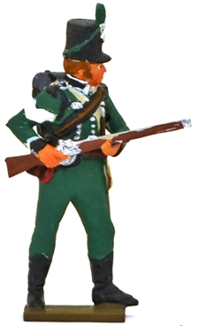 Napoleonic British 95th Rifle Regiment Sergeant