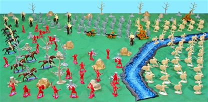 Deluxe Rome vs. Carthage Playset