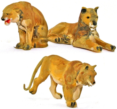 Lions - fully painted version