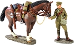 1916-18 British Lancer Feeding Horse - PRE-ORDER
