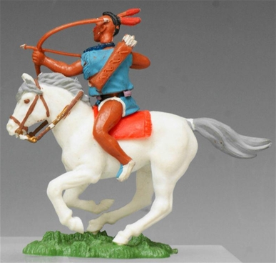 Swoppet Mounted Brave with Bow and Arrow