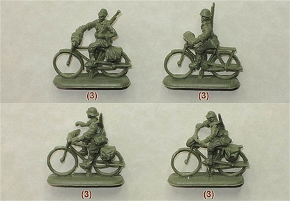 World War II Japanese Bicycle Infantry