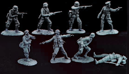 WWII Germans in Action #1 - very low stock