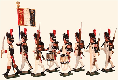French Grenadiers of the Guard, Head of Column