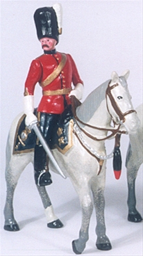 2nd Dragoons Royal Scots Greys Officer - 1900