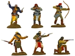 Apache Warriors set 1 - Fully painted