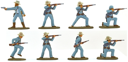 Span Amer War 1898 Spanish Infantry - full paint
