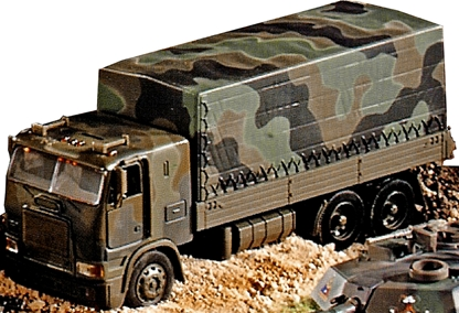 Painted Modern Military Truck - 6 remain
